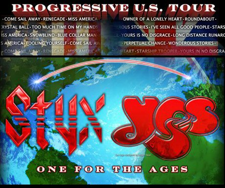 STYX and YES in New Jersey