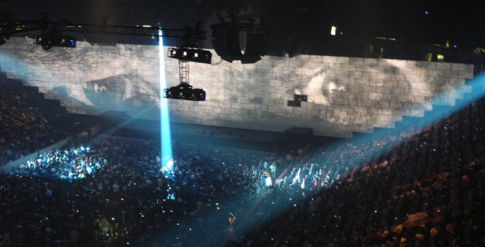 Roger Waters presents The Wall live in concert in Albany, New York