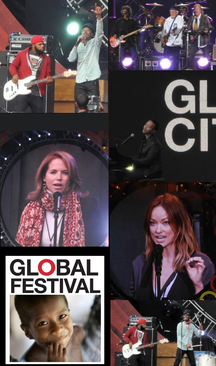 The Global Citizen Festival 2012 in Central Park, New York