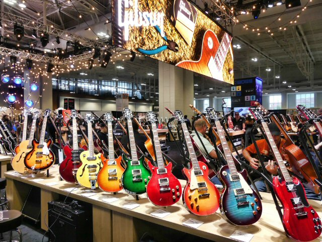 Gibson Brands Are Back in a Big Way at Summer NAMM in Nashville